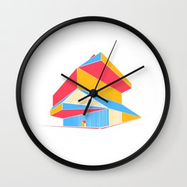 Rem Koolhaas - Seattle Central Library Wall Clock