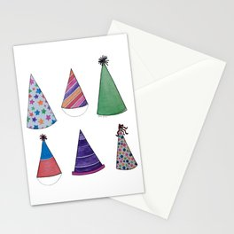 Party Hats Stationery Cards