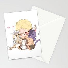 Haikyuu Tsukishima Chibi Stationery Cards