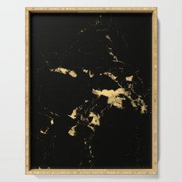 Black Marble #5 #decor #art #society6 Serving Tray