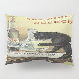 Vintage poster - Absinthe Bourgeois Pillow Sham