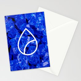 Lapis Lazuli Candy Gem Stationery Cards
