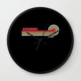 Kissimmee Florida City State Wall Clock