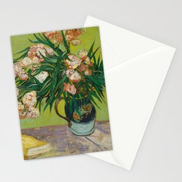 Oleanders by Vincent Van Gogh Stationery Cards
