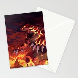 Omega - Groudon Stationery Cards