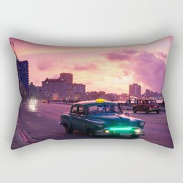 Havana in Cuba Landscape Rectangular Pillow
