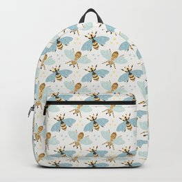 Cute Honey Bee Pattern - Save The Bees Backpack
