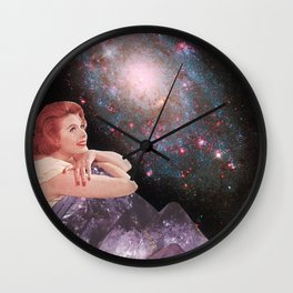 L'Ametheyste Wall Clock