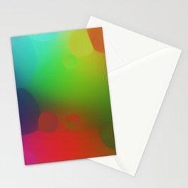 misc fantasy color drops B Stationery Cards