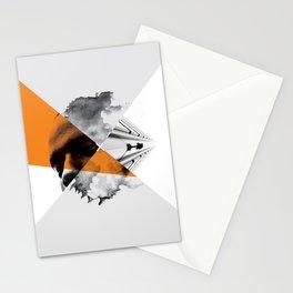 Modern Minimalist Art Stationery Cards