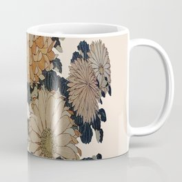 Hokusai, great flowers Coffee Mug