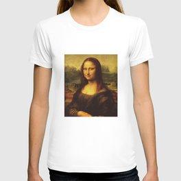 Leonardo Da Vinci Mona Lisa Painting T-shirt