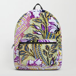 Painted Antique French Pattern Recolored Backpack