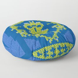 Ugly Sweater 1 Floor Pillow