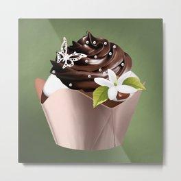 Holiday Cupcakes Metal Print