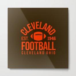 Cleveland est. 1946 Metal Print