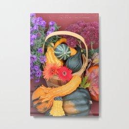 Autumn Beauty Vertical Metal Print