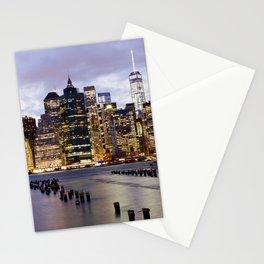 New York Nights #3 Stationery Cards