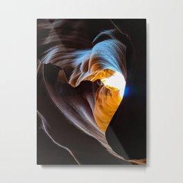 The Heart of Antelope Canyon Metal Print
