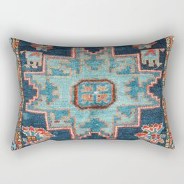 Karabakh  Antique South Caucasus Azerbaijan Rug Print Rectangular Pillow