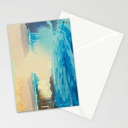 Niagara Falls Vintage Beautiful Japanese Woodblock Print Hiroshi Yoshida Stationery Cards