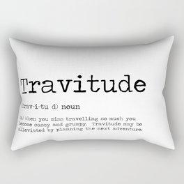 Travitude -Travelers Attitude Rectangular Pillow