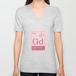 Periodic Elements - 64 Gadolinium (Gd) Unisex V-Neck