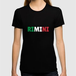 Rimini Italy flag holiday gift T-shirt