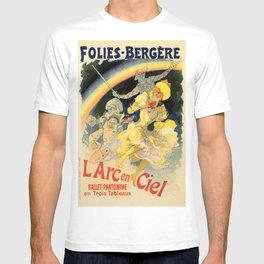 The rainbow L'arc en ciel ballet T-shirt