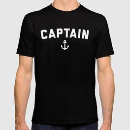 Captain Nautical Quote T-shirt