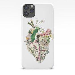 Vintage Botanical Heart iPhone Case