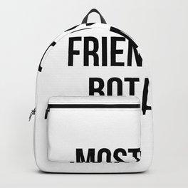 funny botanist Backpack