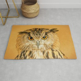 OWL RIGHT ON THE NIGHT Rug