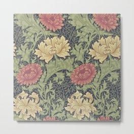 William Morris Chrysanthemum Metal Print