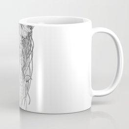 Jellyfish Pen Art Coffee Mug
