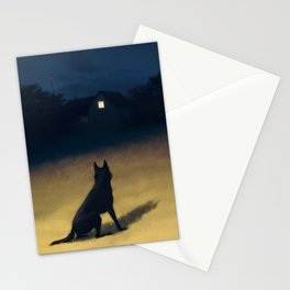 Night in the Hills Stationery Cards