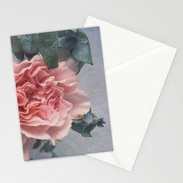 Pensamientos gris Stationery Cards