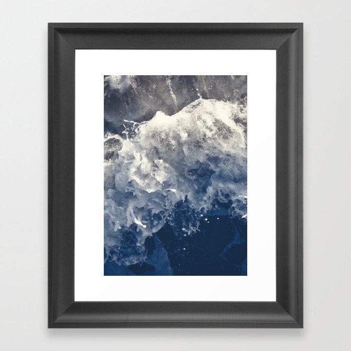 Sea 14 Gerahmter Kunstdruck