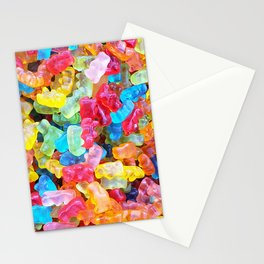 Gummy Bear Don't Care Stationery Cards