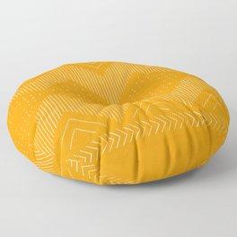 Yuzu Geo Floor Pillow