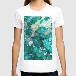 Teal Rock Candy Quartz T-shirt