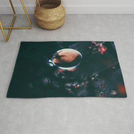 Espresso in the morning Rug