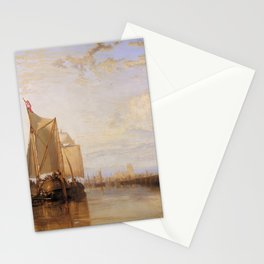 William Turner - The Dort Packet-Boat from Rotterdam Becalmed Stationery Cards