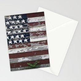 50 Stars #America #flag Stationery Cards