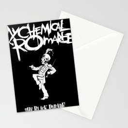 my chemical romance parade originally Stationery Cards