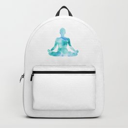 Yoga | Lotus Pose | Padmasana | Sacred Lotus | Asana | Meditation | Blue Backpack