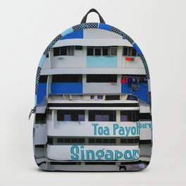 FRONT- Singapore HDB Flat Backpack