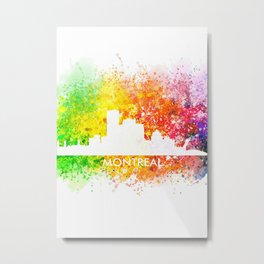 Montreal Canada Landscape Metal Print