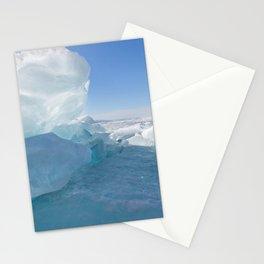 Baikal Ghost. Lake Baikal Ice Adventure Stationery Cards