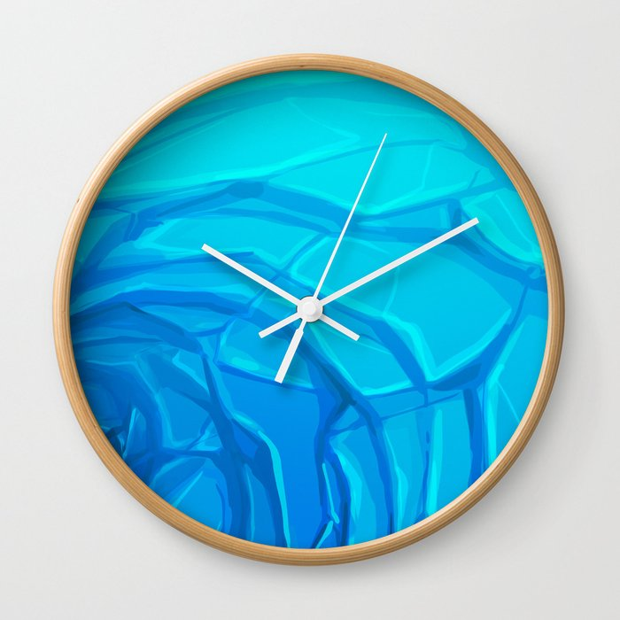 Deep End Wall Clock